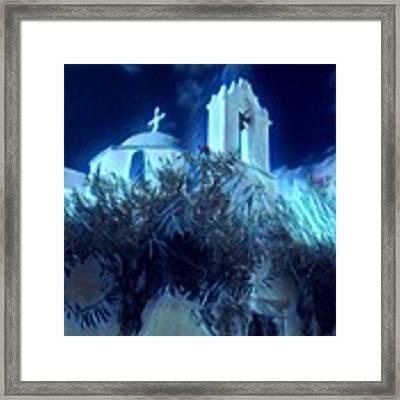 Paros Island Beauty Greece  Framed Print by Colette V Hera Guggenheim