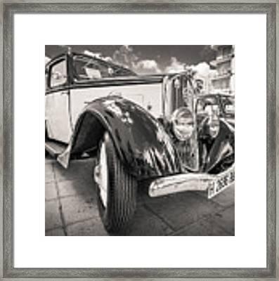 Peugeot 201  Framed Print by Gary Gillette