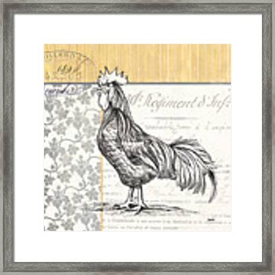 Vintage Farm 1 Framed Print by Debbie DeWitt