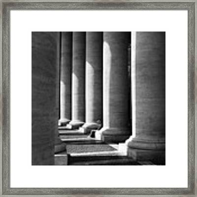 Waiting At St Peters Framed Print by Julian Perry