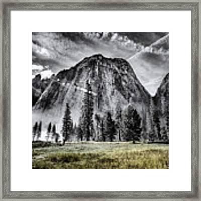 Yosemite Dawn Framed Print by Chris Cousins