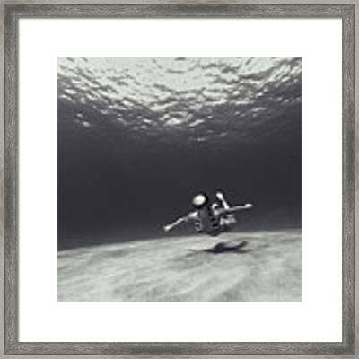 110820-9116 Framed Print by Enric Gener