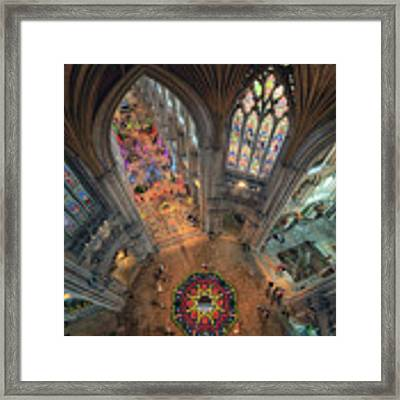 Ely Cathedral Flower Festival Framed Print by James Billings