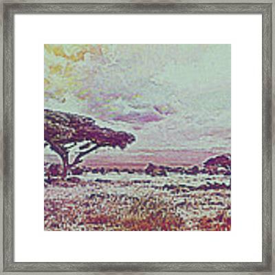 Africa Framed Print by Artistic Panda