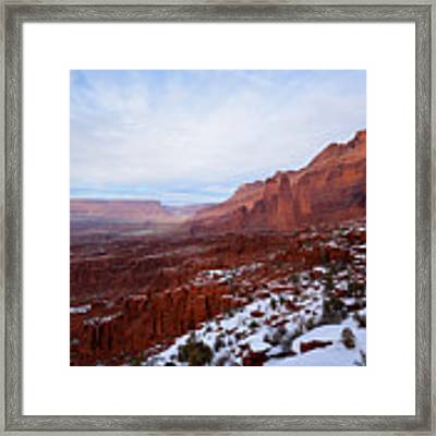 Fisher Towers Framed Print by Kate Avery