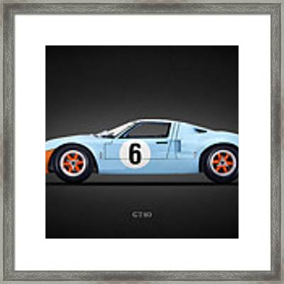 The Gt40 Framed Print by Mark Rogan
