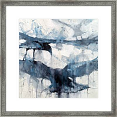 3 Crows Framed Print