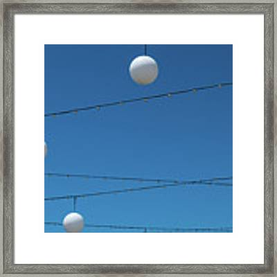 3 Globes Framed Print by Eric Lake