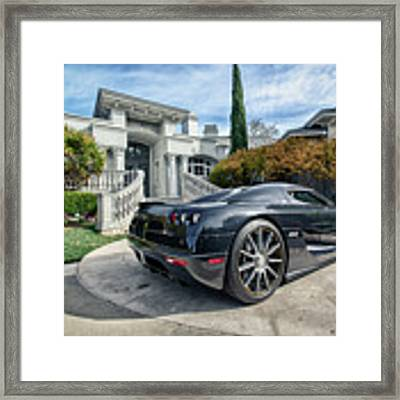 #koenigsegg #ccx Framed Print by ItzKirb Photography