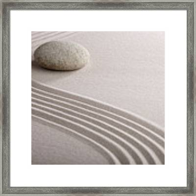 Zen Garden Framed Print by Dirk Ercken