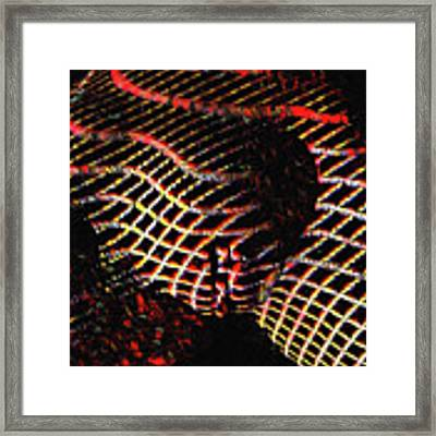 1152-MAK BW Zebra Stripe Fine Art Nude Topographic Abstract Photo Signed Maher