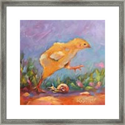 A Gracious Friend Framed Print by Wendy Ray