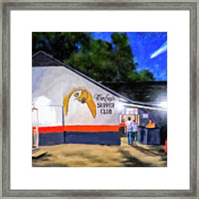 A Night To Remember In Auburn Framed Print by Mark Tisdale