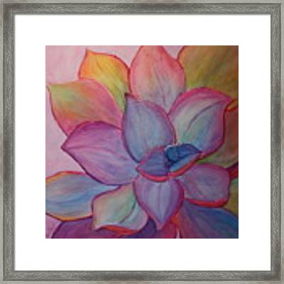 A Reason For Being Framed Print by Sandi Whetzel