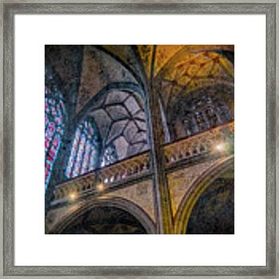 Aachen, Germany - Cathedral - Nikolaus-michaels Chapel Framed Print by Mark Forte