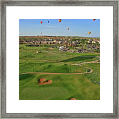 Above The Course Framed Print by Scott Mahon