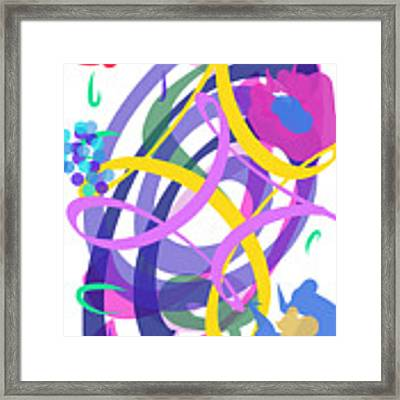 Abstract Garden #2 Framed Print by Bee-Bee Deigner