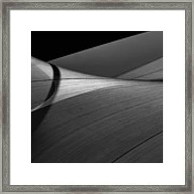 Abstract Sailcloth 200 Framed Print by Bob Orsillo