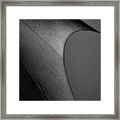 Abstract Sailcloth 201 Framed Print by Bob Orsillo