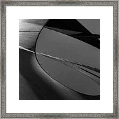 Abstract Sailcloth 202 Framed Print by Bob Orsillo