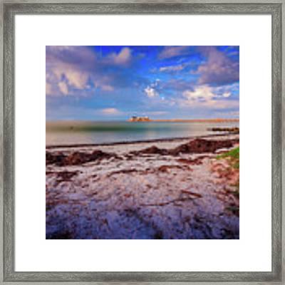 Anna Maria City Pier Framed Print by Doug Camara