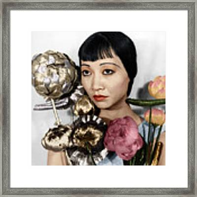 Anna May Wong Framed Print by Granger