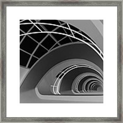 Antwerp-stairs Framed Print