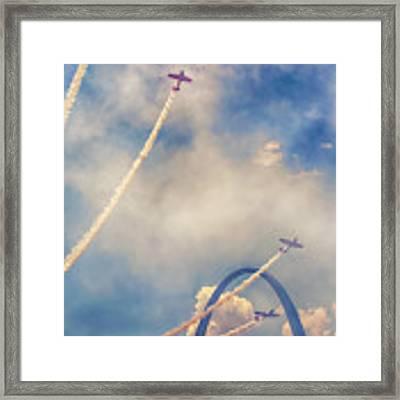 Arch Flight Framed Print by Susan Rissi Tregoning