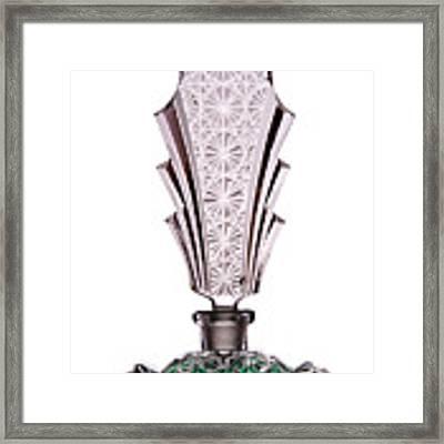 Art Deco Perfume Framed Print