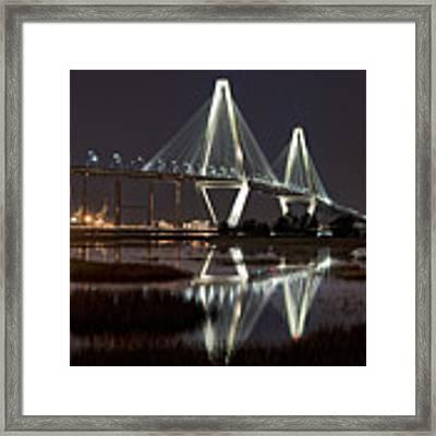 Arthur Ravenel Jr. Bridge Framed Print by Ken Barrett