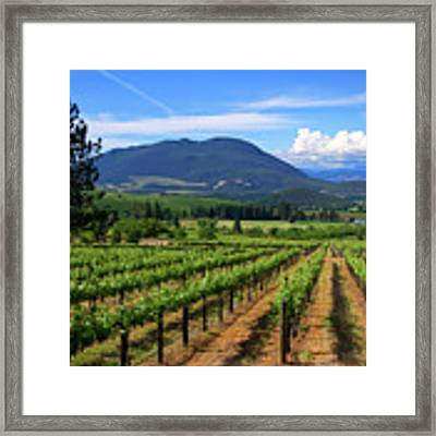 As Far As The Eye Can See Framed Print by Skip Hunt