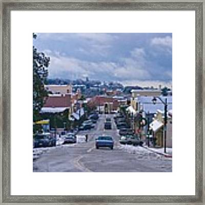 Auburn California Triptych Framed Print by Sherri Meyer