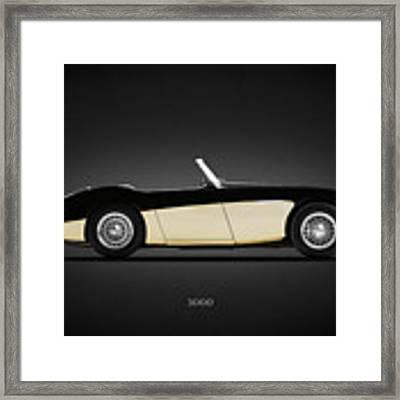 Austin Healey 3000 Framed Print by Mark Rogan