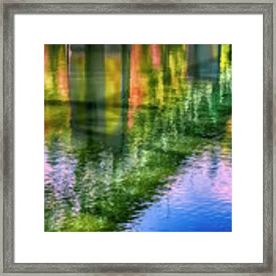 Autumn Span  Framed Print by Dee Browning