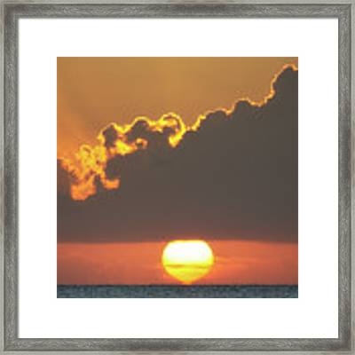 Ball Of Fire Framed Print by David Buhler