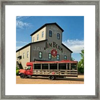 Beam's Bourbon Showplace Framed Print by Mel Steinhauer