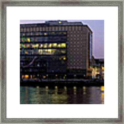 Berlin 360 Grad  Framed Print by Juergen Held