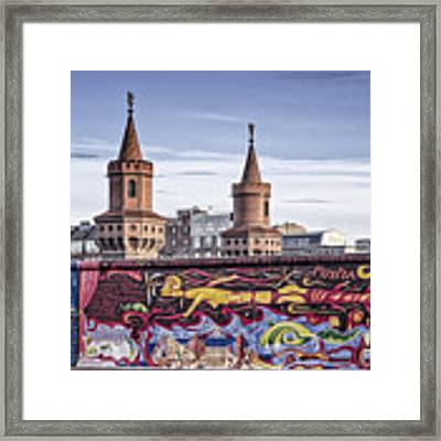 Berlin Wall Framed Print by Juergen Held