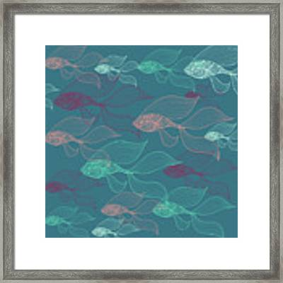 Beta Fish  Framed Print by Mark Ashkenazi