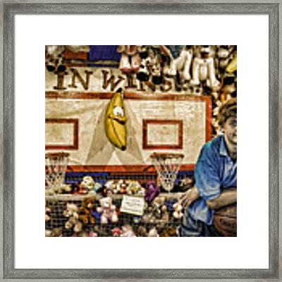 Beware The Smiling Banana  Framed Print by Bob Orsillo