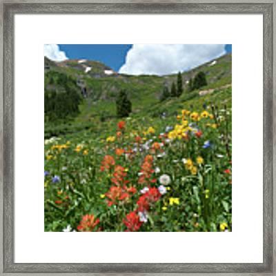 Black Bear Pass Landscape Framed Print by Cascade Colors