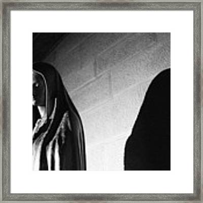 Blessed Virgin Of Fiesole Italy Framed Print by Matthew Wolf