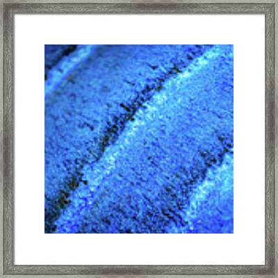 Blue Curves Framed Print by Todd Blanchard