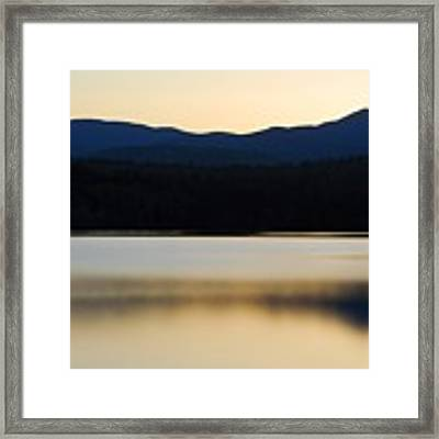 Blue Lake Framed Print by AnnaJanessa PhotoArt