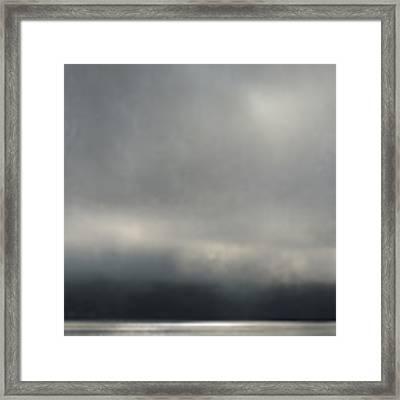 Blue Mood Framed Print by Sally Banfill