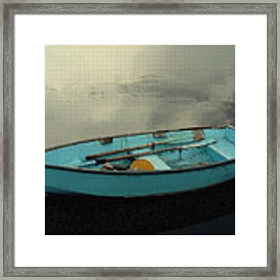 Boat Framed Print by Artistic Panda