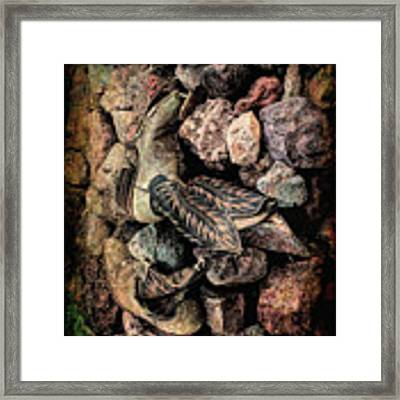 Boots Framed Print by Michael Hope