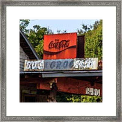 Bo's Grocery Framed Print by Doug Camara