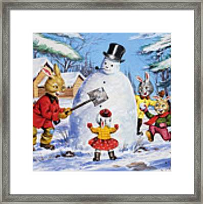 Brer Rabbit From Once Upon A Time Framed Print