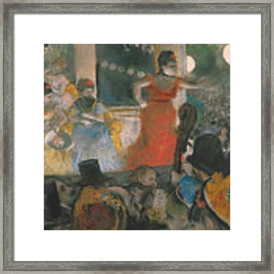 Cafe Concert At Les Ambassadeurs Framed Print